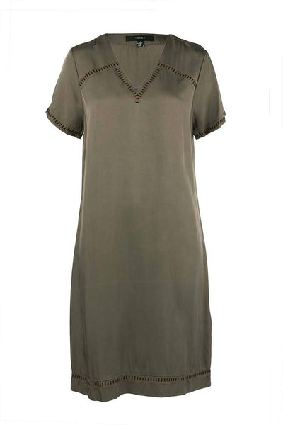 Attract Dress in Olive Dresses Verge