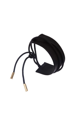Amona Leather Cuff / Choker by Peter Lang Frockaholics.com