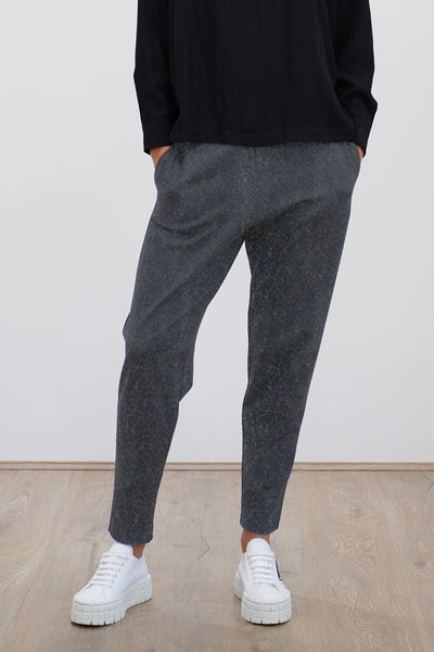 Base Knit Pant in Charcoal Bottoms Mela Purdie