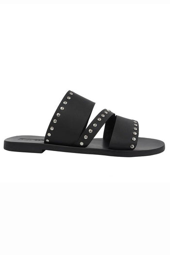 Betty Slide in Black | FINAL SALE