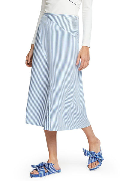 Bias Cut Midi Skirt Bottoms Maison Scotch
