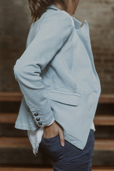 Brooklyn Jacket in Chambray Jackets & Outerwear Milson
