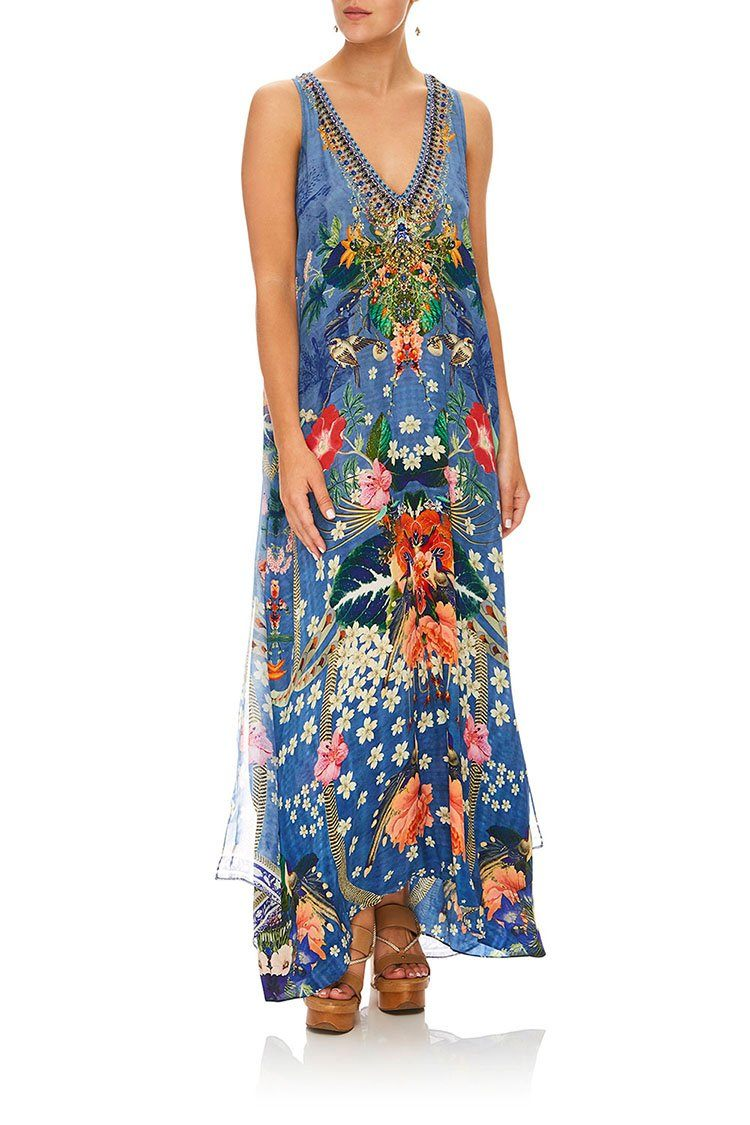 Tie Front Multi Wear Dress in Faraway Florals