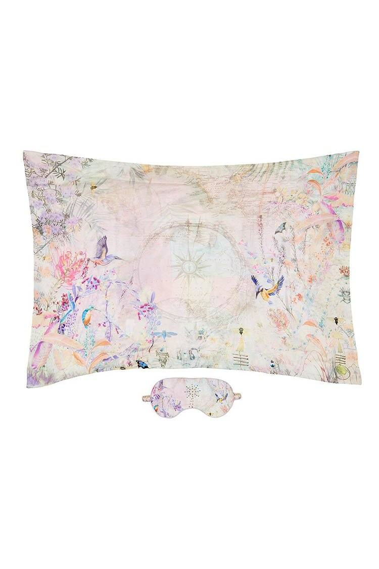Eye Mask & Pillow Set in Mermaid Milla