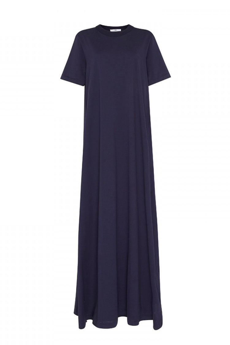 Reign Dress in Navy