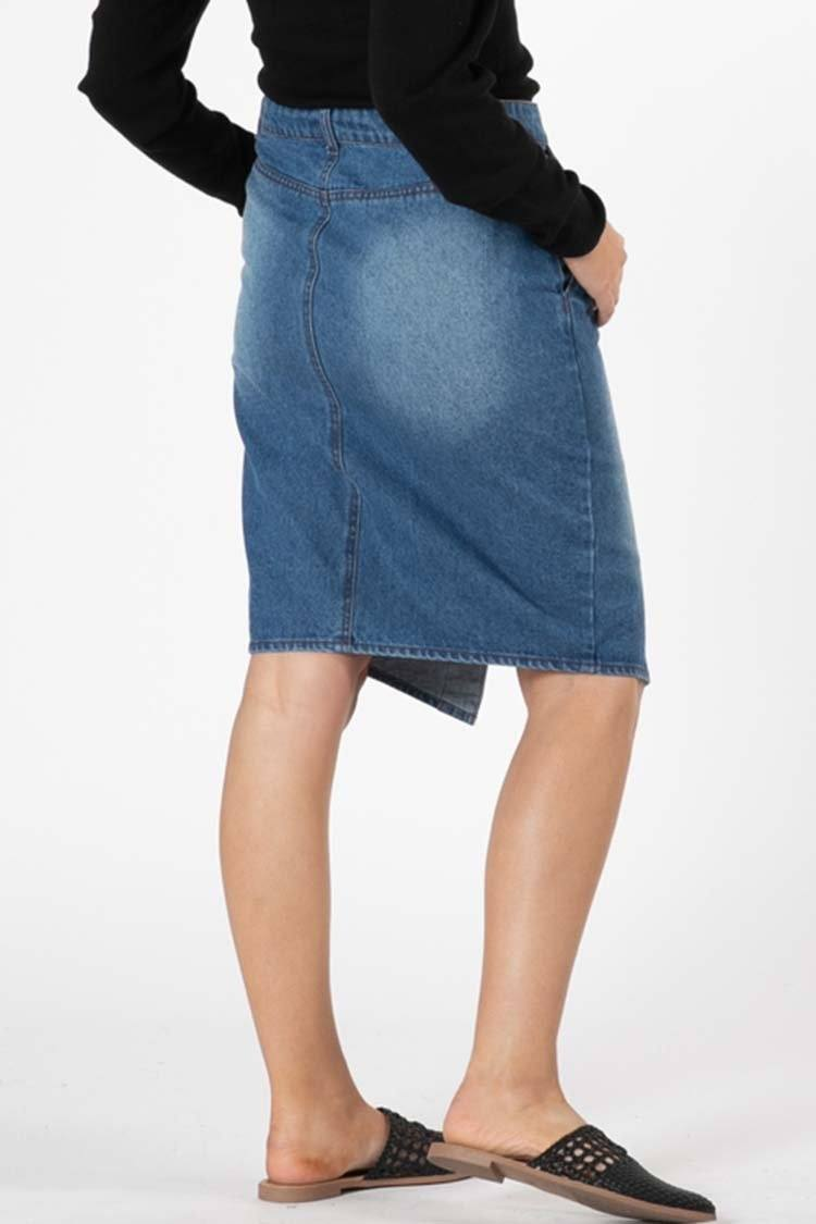 Cacey Denim Skirt