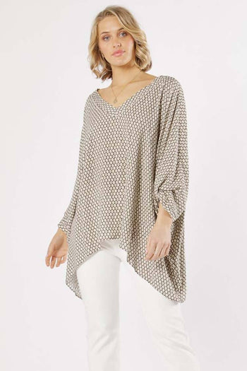 Casablanca V-Neck Blouse