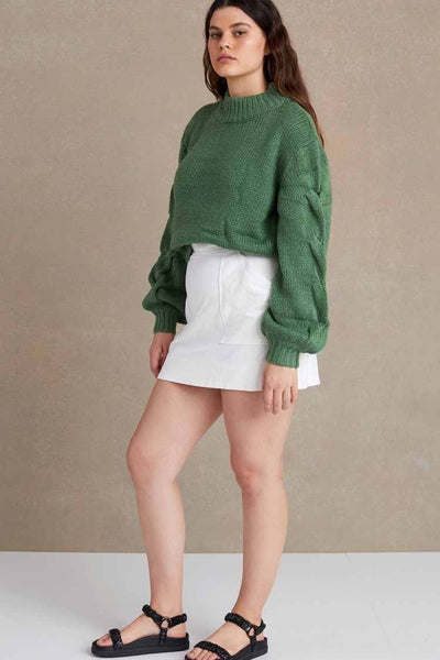 Celeste Knit Jumper in Jade Tops Bec & Bridge