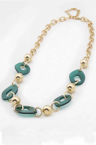 Clair Resin Necklace Accessories Peter Lang