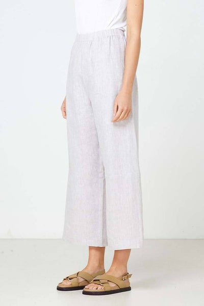 Como Pant in Grey Bottoms Elka Collective