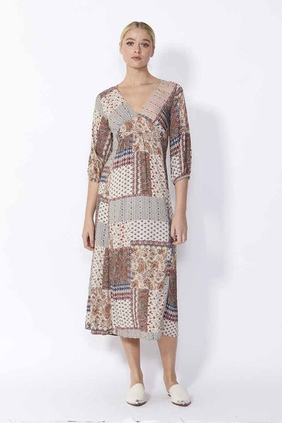 Cora Dress in Paisley Dresses SASS