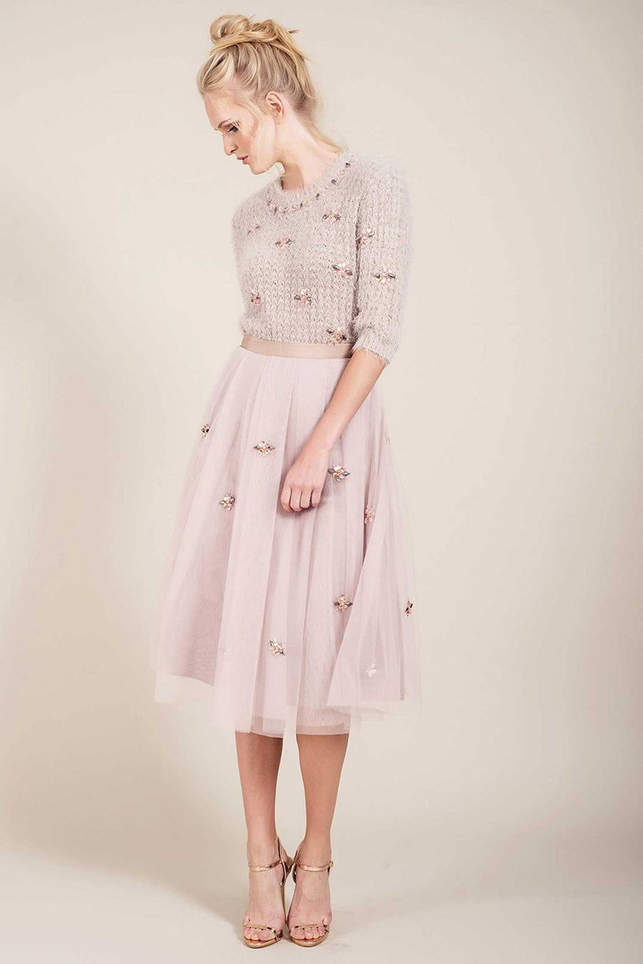 Phebe Flared Skirt by Darling Frockaholics.com