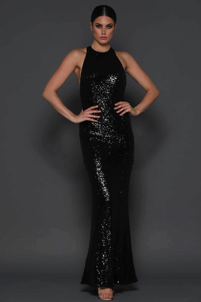 Shop Online Danny in Black by Elle Zeitoune  Frockaholics Dresses