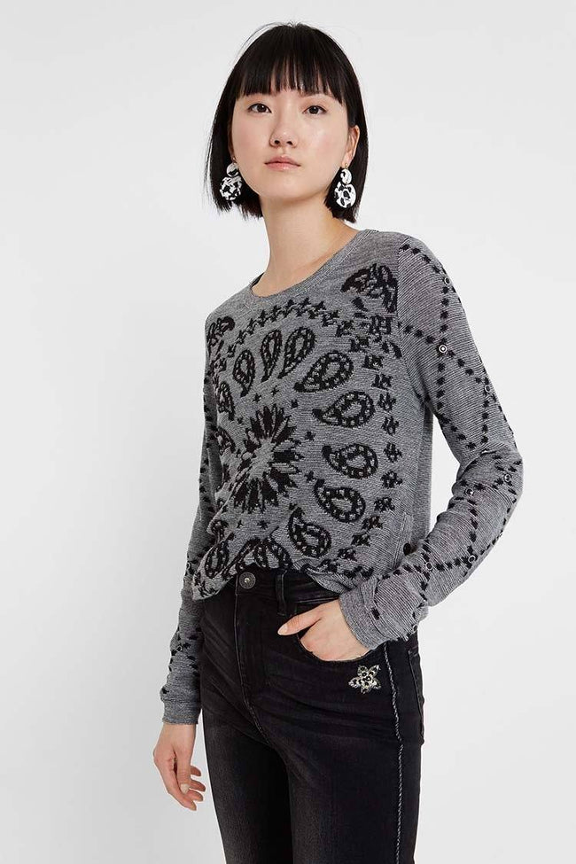 Austin Low Rounded Sweater