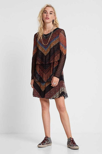 Ocrida Frills Valances Dress | FINAL SALE Dresses Desigual