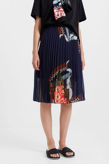 Fabiola Arty Pleated Skirt