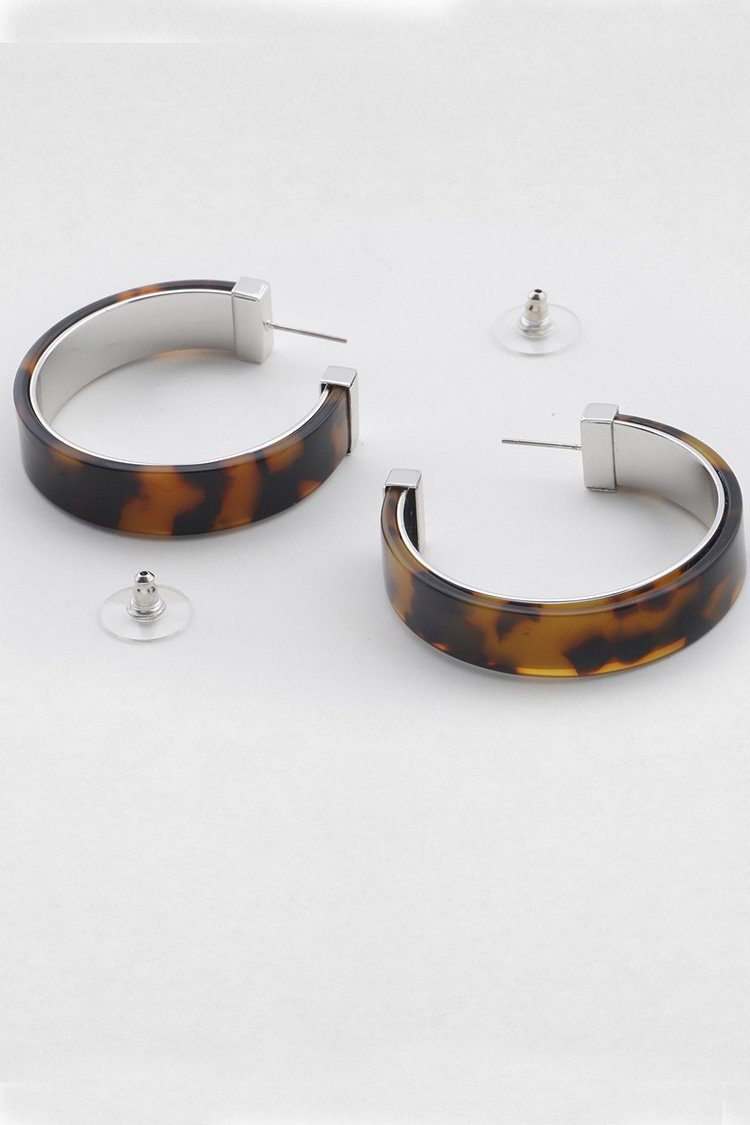 Estelle Earring in Tort