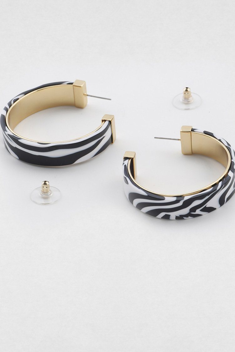Estelle Earring in Zebra