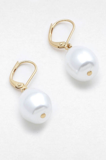 French Baroque Pearl Earring