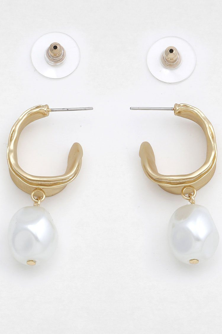 Viola Boroque Pearl Earring