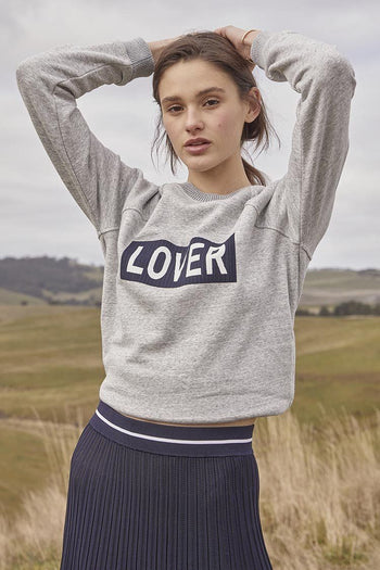 Lover Crew in Grey Marle | FINAL SALE
