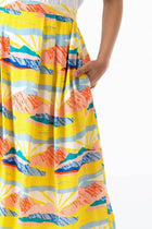 Faye Skirt in Paintbox Valley