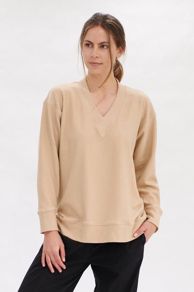 Edit Sweater in Meringue Tops Mela Purdie