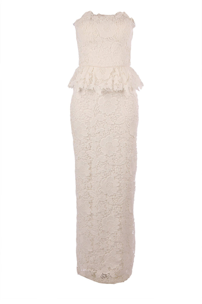 Shop Online Prepose Gown in Ivory by Eileen Kirby  Frockaholics Dresses