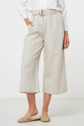 Louna Pant in Natural