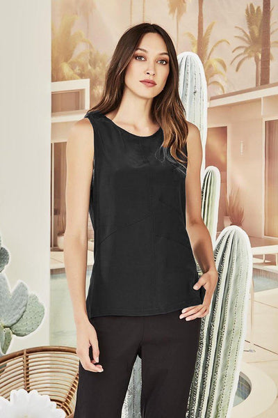 Everly Top in Black Tops Verge