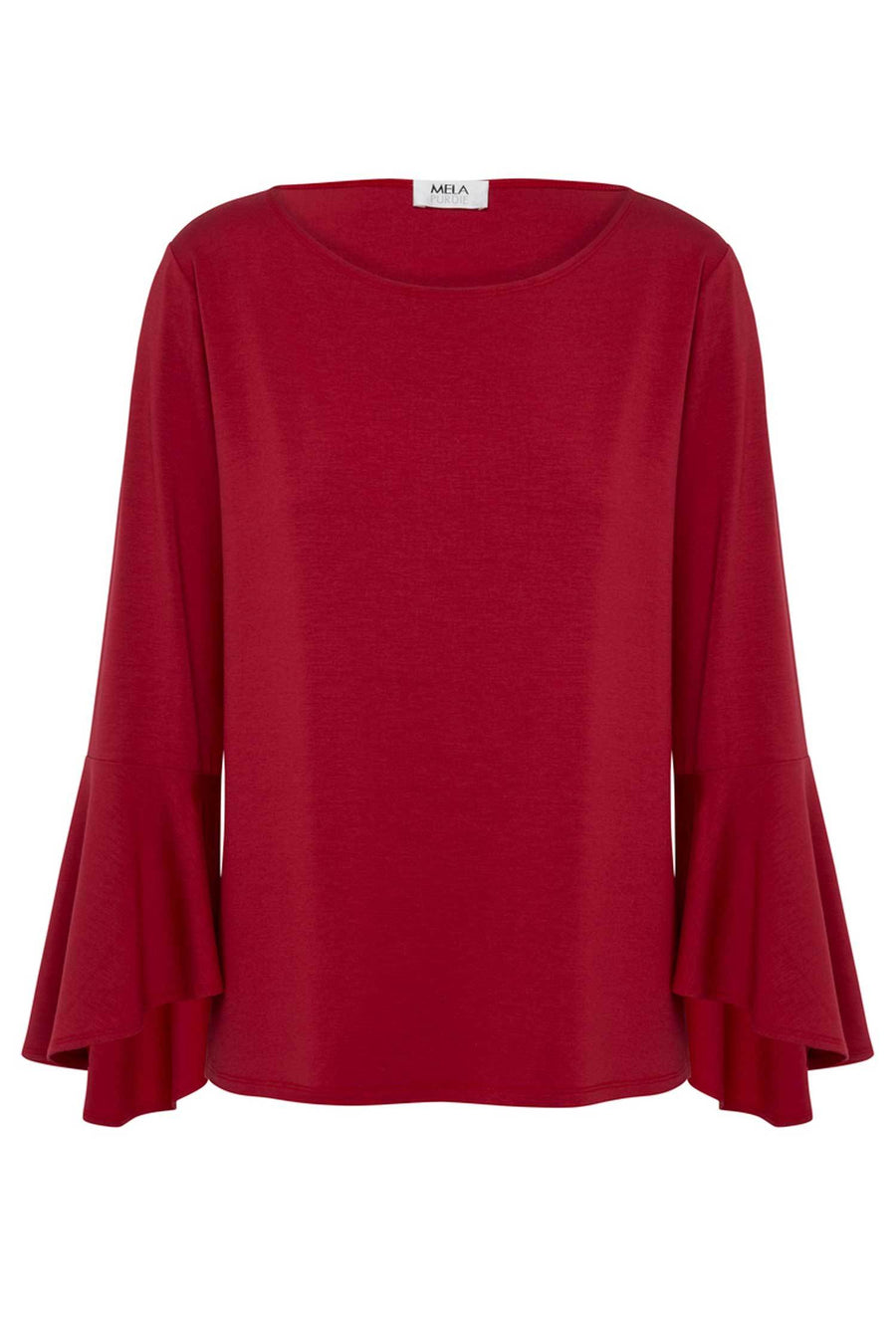 Shop Online Tulip Sleeve T in Ruby by Mela Purdie  Frockaholics Tops