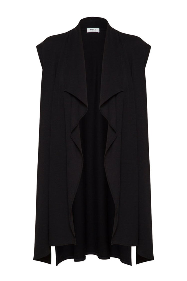 Avenue Vest in Black
