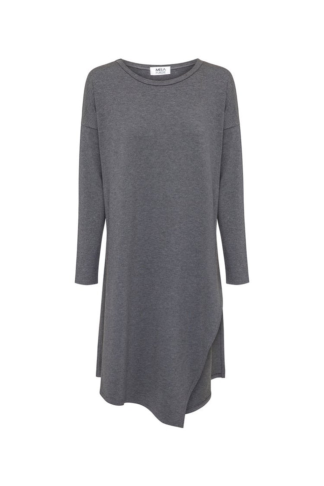Slide On Tunic in Ash Marl