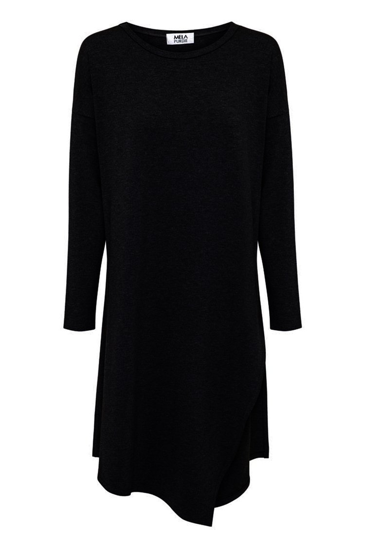 Slide On Tunic in Black