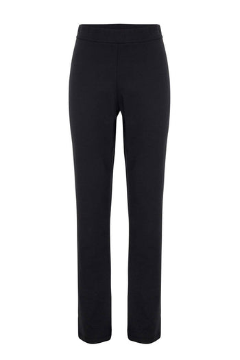 Long Slim Pant in Black