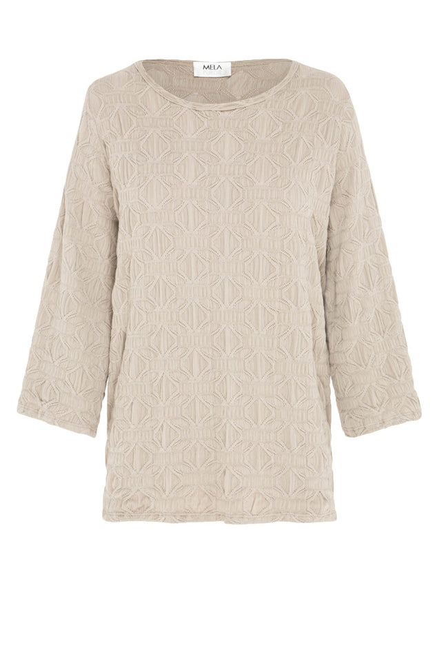 Spa Top in Macrame Jacquard | FINAL SALE