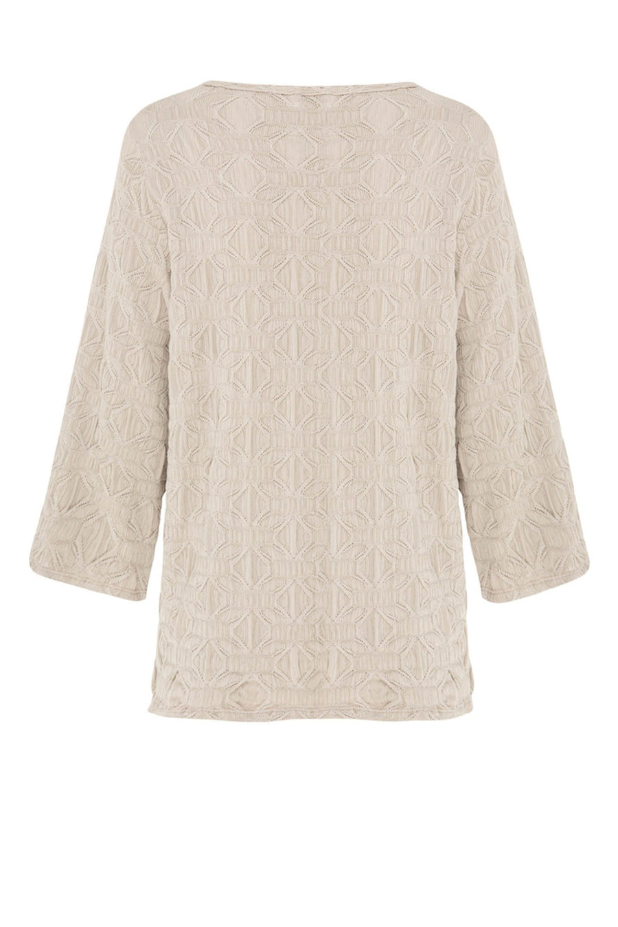 Spa Top in Macrame Jacquard