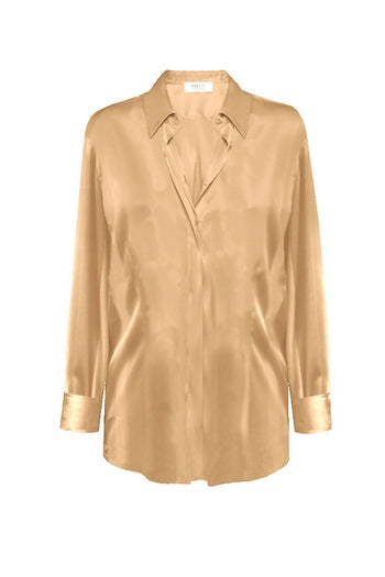 Soft Shirt in Spun Gold