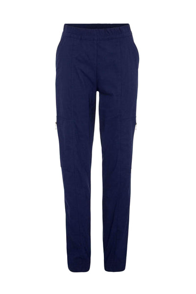 Zip Cargo in French Navy Bottoms Mela Purdie