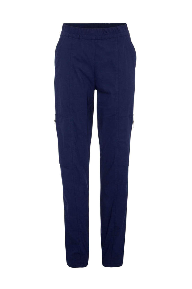 Shop Online Zip Cargo in French Navy by Mela Purdie  Frockaholics Bottoms