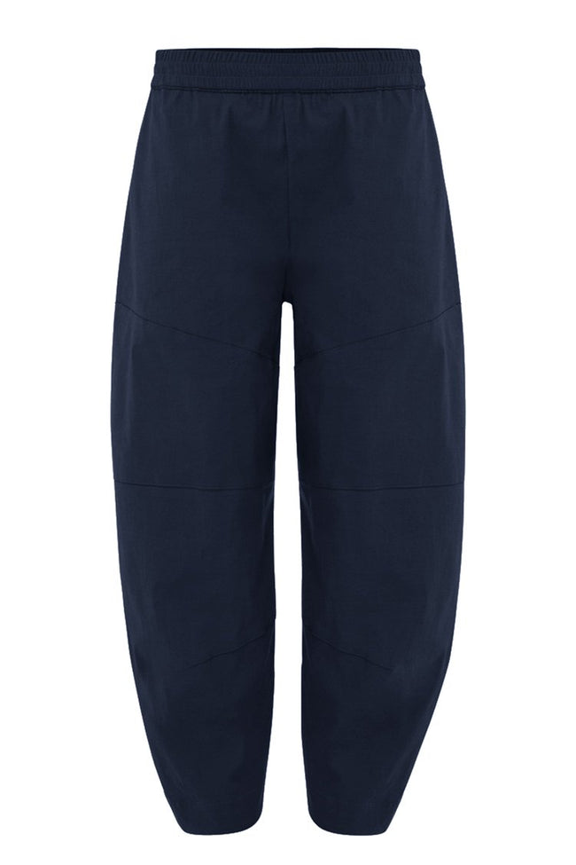 Cropped Tuscan Pant in French Navy