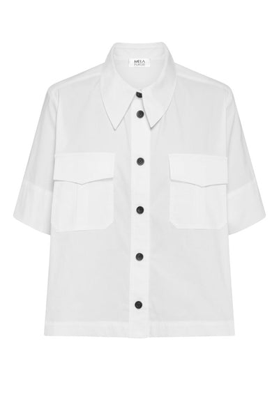 Savannah Shirt in White Tops Mela Purdie