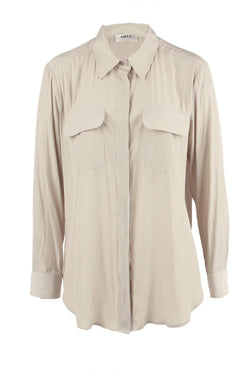 Soft Pocket Shirt in Angora