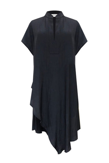Slide On Tunic in French Navy