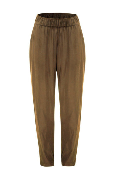Soft Nomad Pant in Raffia Bottoms Mela Purdie