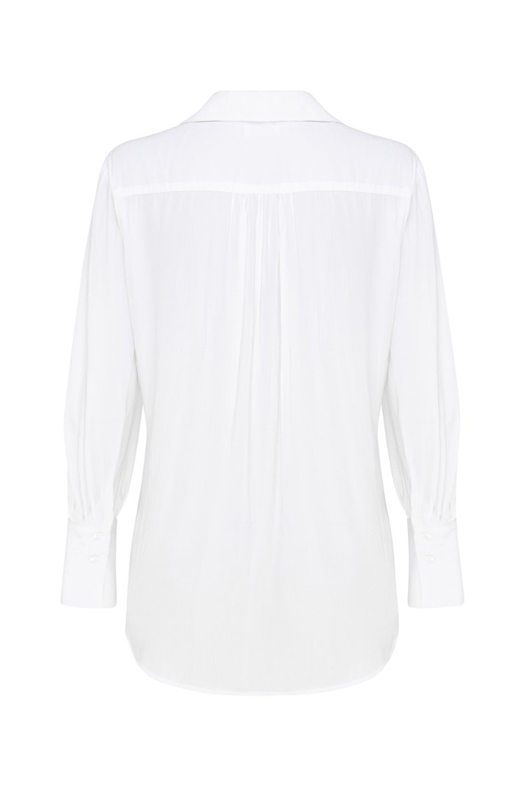Avenue Shirt in White