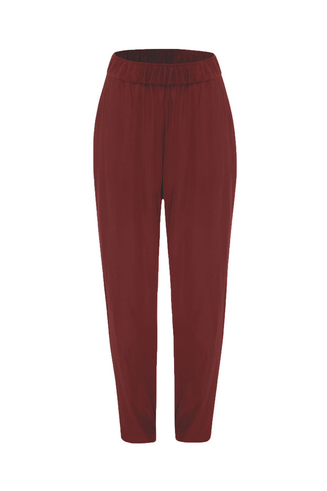 Soft Nomad Pant in Claret