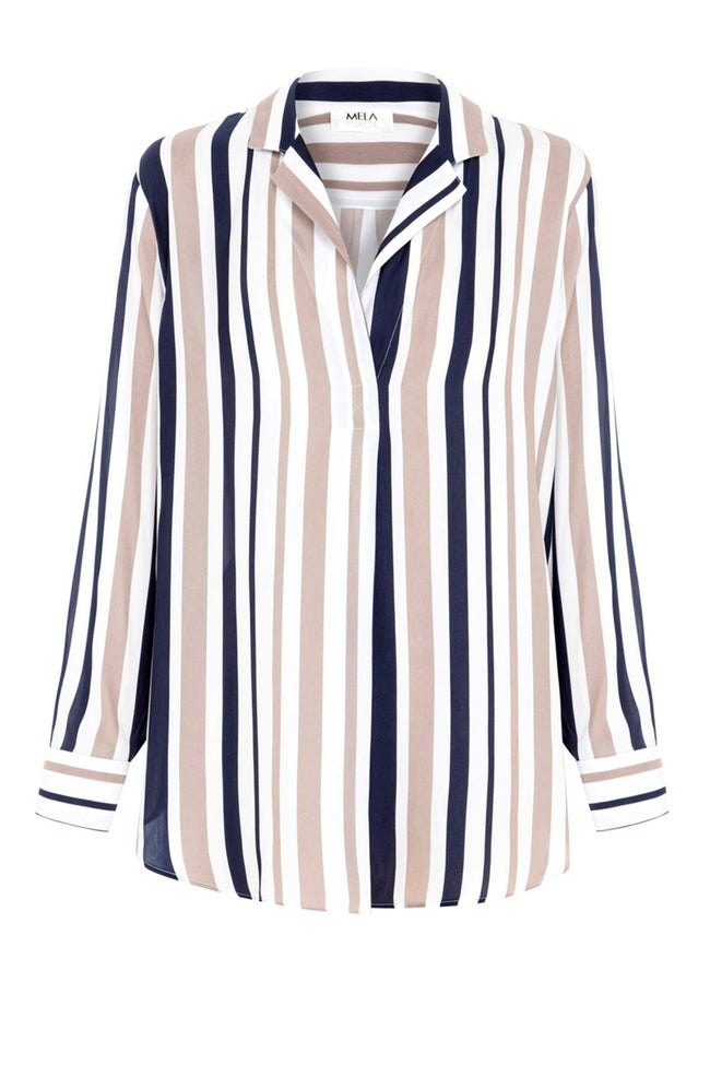 Nomad Shirt in Marina Stripe