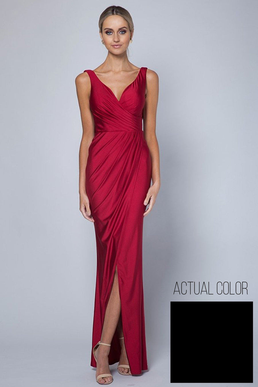 Obsession Draped Gown