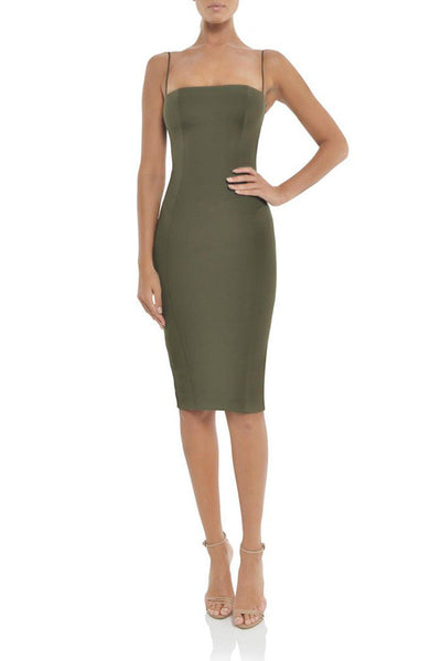 Sophie Dress in Khaki | FINAL SALE Dresses Misha Collection
